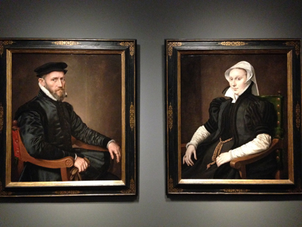 Portraits of Sir Thomas Gresham and Anne Fernely - Anthonis Mor
