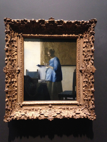 Woman Reading a Letter - Johannes Vermeer